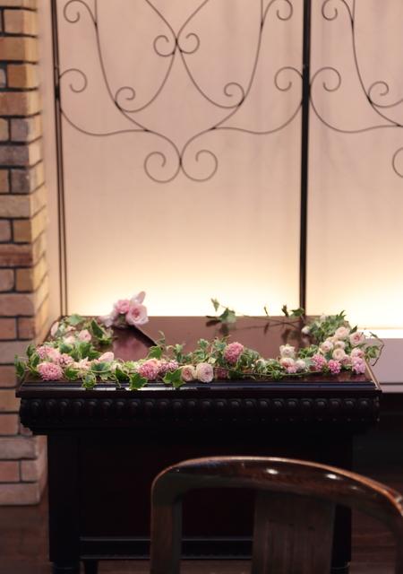 秋の装花 ザ・ハウス白金様へ 美味しい料理は最高のおもてなし_a0042928_10284697.jpg