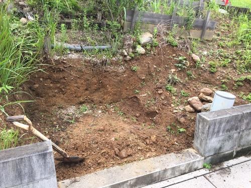 庭の階段_c0331145_057667.jpg