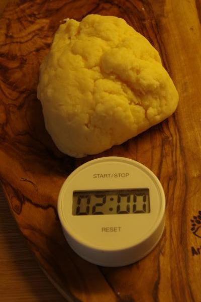 もちもちパンミックスでパンを焼いてみました_c0341450_15511423.jpg