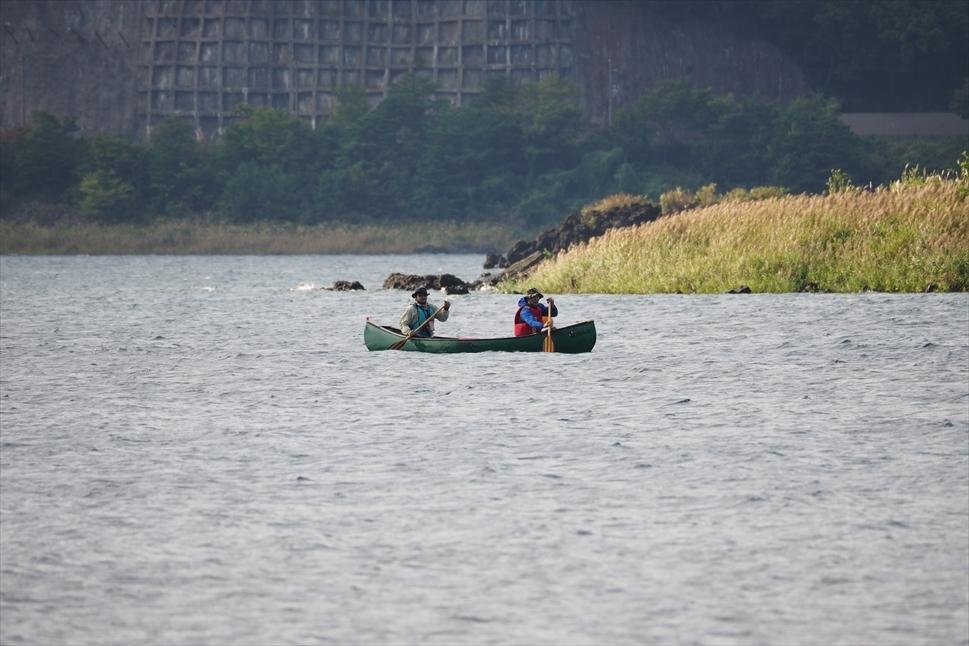 【レポート】本栖湖キャンプ場① ~カヌーと何もしないキャンプ 前編_b0008655_16403019.jpg