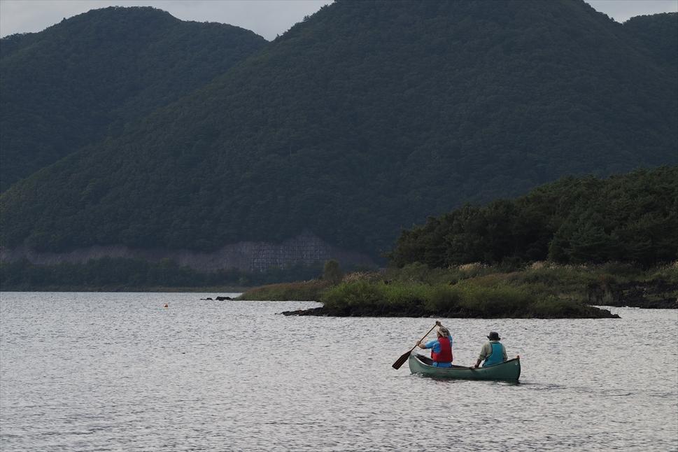 【レポート】本栖湖キャンプ場① ~カヌーと何もしないキャンプ 前編_b0008655_16445491.jpg