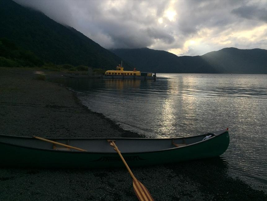【レポート】本栖湖キャンプ場① ~カヌーと何もしないキャンプ 前編_b0008655_16490538.jpg