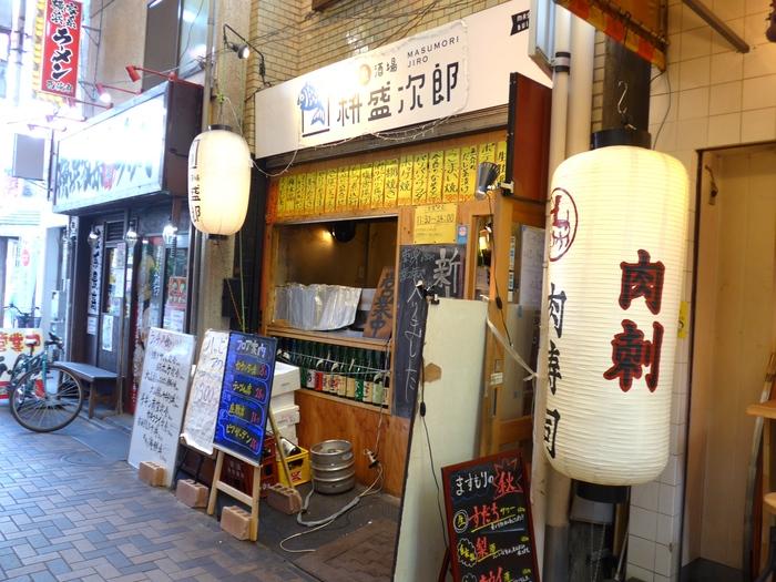 西荻窪「大衆魚酒場 桝盛次郎」へ行く。_f0232060_0432831.jpg