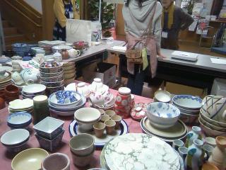 清瀬市民まつりで「お茶わんリサイクル」のボランティア_f0291565_1041428.jpg