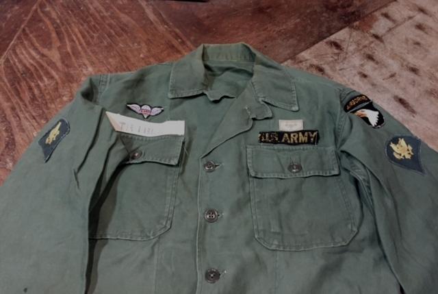 50s~U.S ARMY UTILITY SHIRTS_c0144020_13333449.jpg