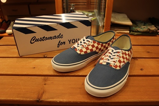 "VANS 50th ANIVERSARY ""AUTHENTIC CHECKERBOARD/BLUE ASHES\"" ご紹介_f0191324_09105540.jpg"