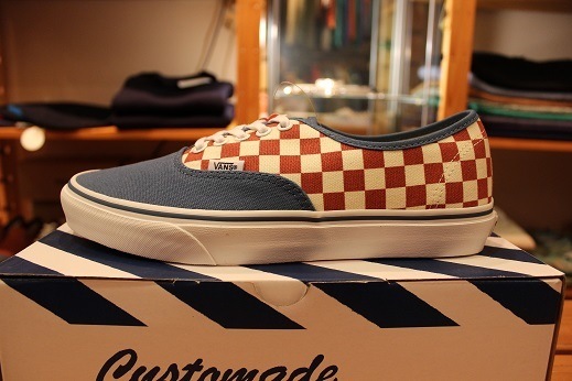 "VANS 50th ANIVERSARY ""AUTHENTIC CHECKERBOARD/BLUE ASHES\"" ご紹介_f0191324_09110431.jpg"