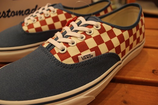 "VANS 50th ANIVERSARY ""AUTHENTIC CHECKERBOARD/BLUE ASHES\"" ご紹介_f0191324_09110819.jpg"