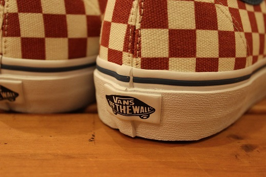 "VANS 50th ANIVERSARY ""AUTHENTIC CHECKERBOARD/BLUE ASHES\"" ご紹介_f0191324_09111302.jpg"