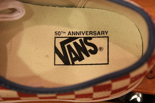 "VANS 50th ANIVERSARY ""AUTHENTIC CHECKERBOARD/BLUE ASHES\"" ご紹介_f0191324_09111877.jpg"