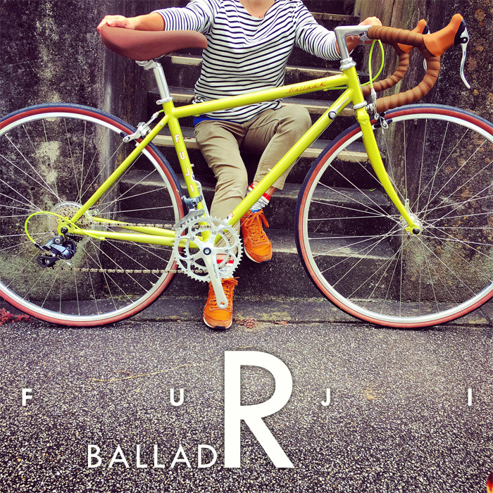 FUJI BALLAD R 2017 fuji バラッド クロモリ ロードバイク クロスバイク 自転車女子 フジ おしゃれ自転車 自転車ガール_b0212032_16315409.jpg