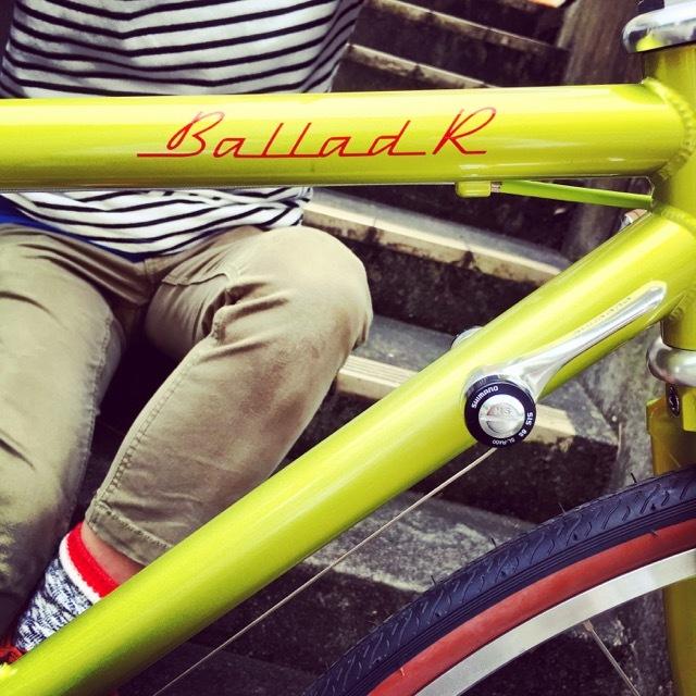 FUJI BALLAD R 2017 fuji バラッド クロモリ ロードバイク クロスバイク 自転車女子 フジ おしゃれ自転車 自転車ガール_b0212032_16323942.jpg