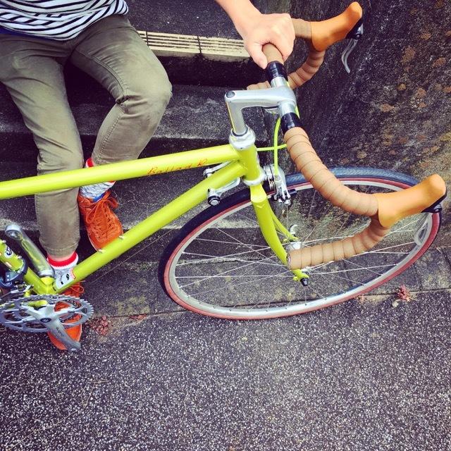 FUJI BALLAD R 2017 fuji バラッド クロモリ ロードバイク クロスバイク 自転車女子 フジ おしゃれ自転車 自転車ガール_b0212032_16335672.jpg