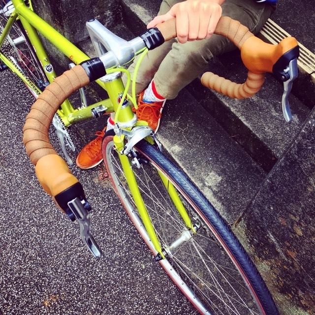 FUJI BALLAD R 2017 fuji バラッド クロモリ ロードバイク クロスバイク 自転車女子 フジ おしゃれ自転車 自転車ガール_b0212032_16345225.jpg