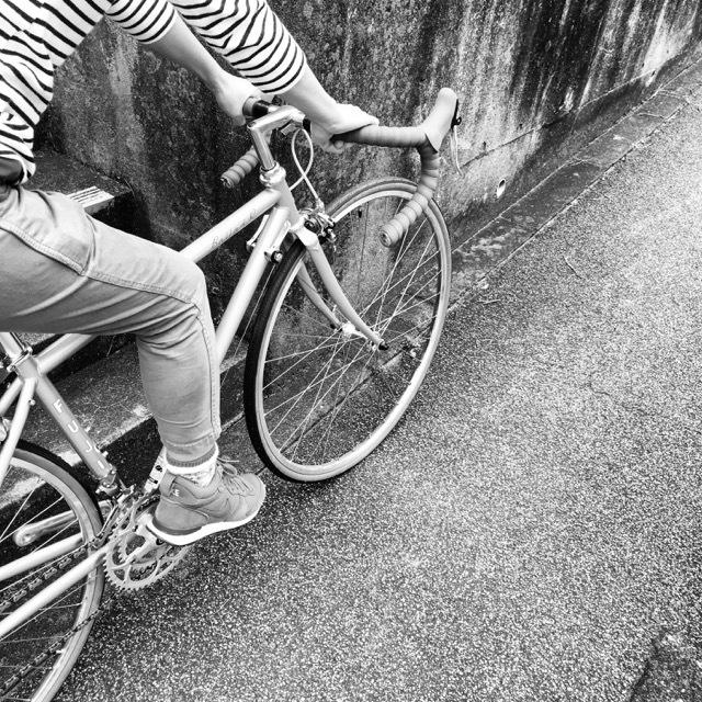 FUJI BALLAD R 2017 fuji バラッド クロモリ ロードバイク クロスバイク 自転車女子 フジ おしゃれ自転車 自転車ガール_b0212032_16370291.jpg