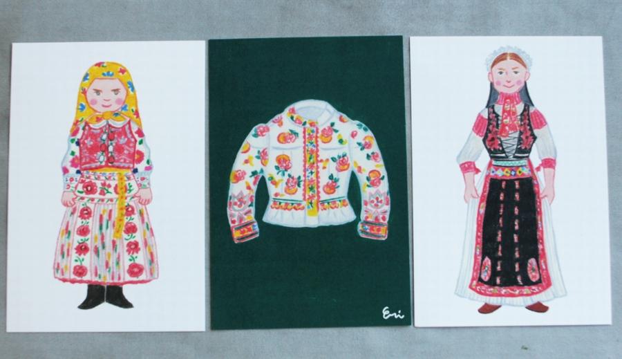 カロタセグ地方のイーラーショシュ、古い刺繍の品々、イラスト・ポストカードが入荷しました。_b0142544_4385782.jpg