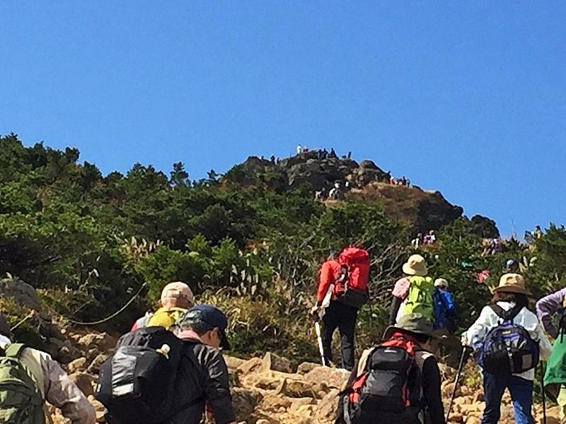 安達太良山は どぴーかん(^^♪_c0261447_20501270.jpg