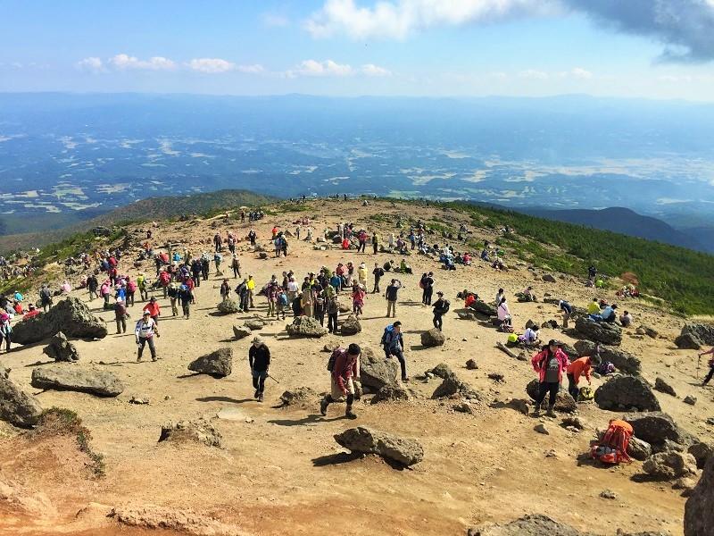 安達太良山は どぴーかん(^^♪_c0261447_21035475.jpg