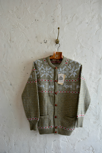 70\'s Fruits of the loom wool knit dead stock made in Italy_f0226051_1456449.jpg
