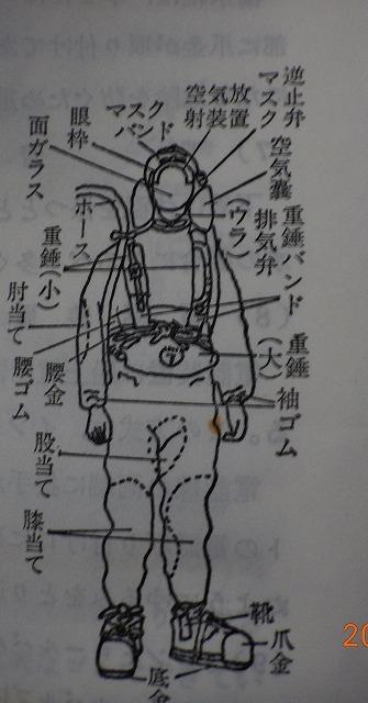 1017  マスク式潜水 旭式-2_b0075059_10332958.jpg