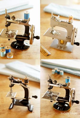 Singer child sewing machines  アンティーク シンガー トイミシン_e0253364_20443508.jpg