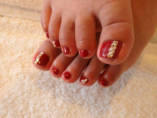 Red Foot Nail_a0239065_11420775.jpg