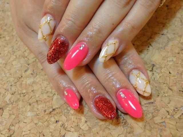 Pink Nail_a0239065_12264648.jpg