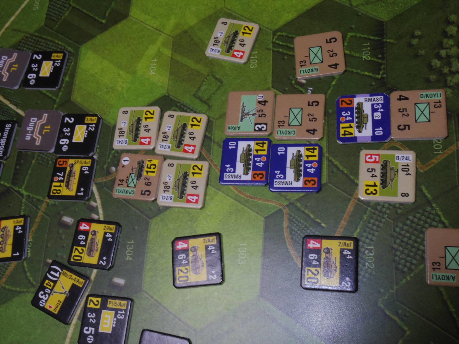 (GMT)ドーントレス作戦:練習シナリオ3「Recon Roundup(偵察の仕上げ)」からシナリオ18.1「Nightmarish Crossroad(悪夢のクロスロード)」その㈠_b0173672_01190698.jpg