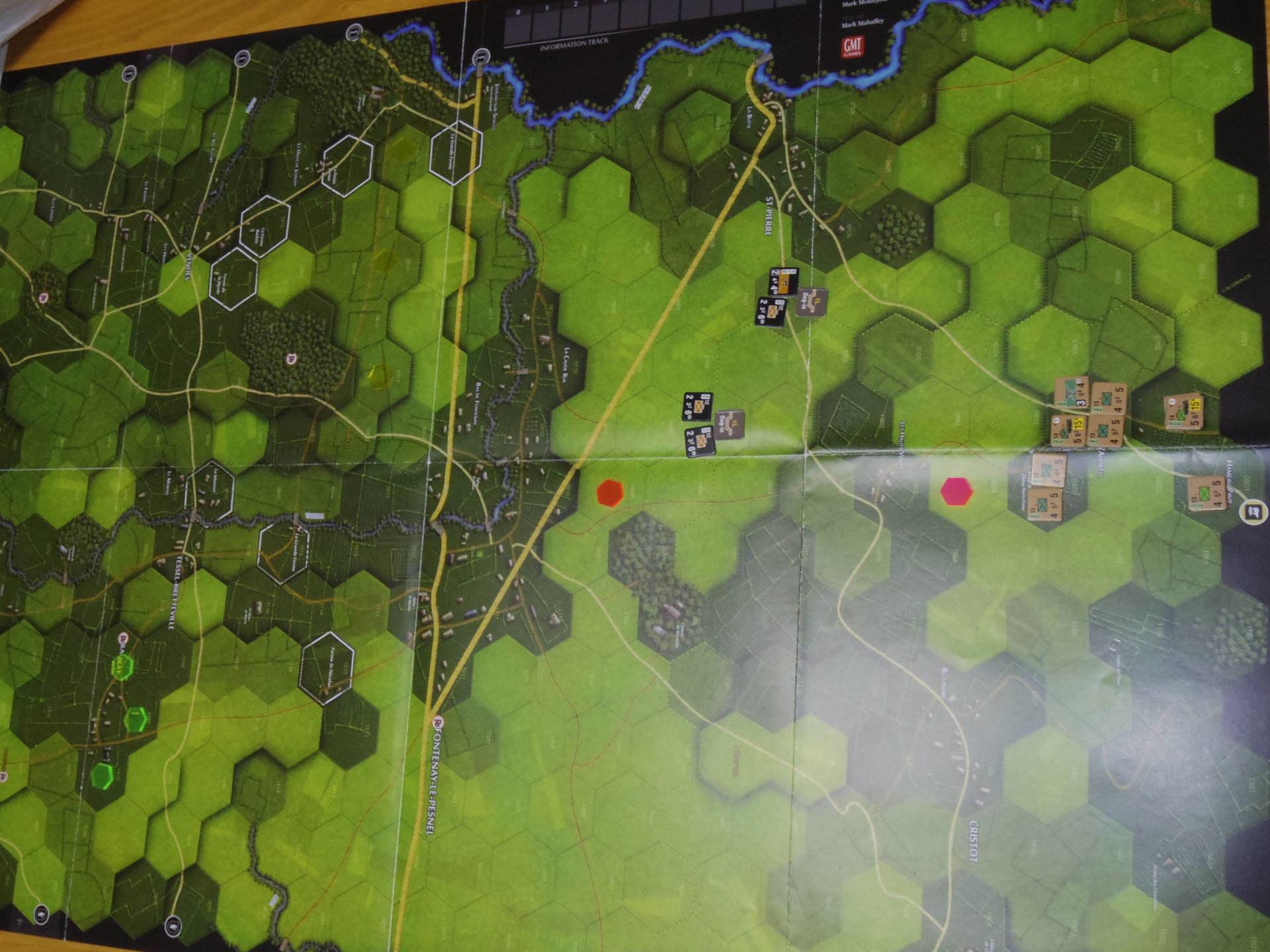 (GMT)ドーントレス作戦:練習シナリオ3「Recon Roundup(偵察の仕上げ)」からシナリオ18.1「Nightmarish Crossroad(悪夢のクロスロード)」その㈠_b0173672_01190747.jpg