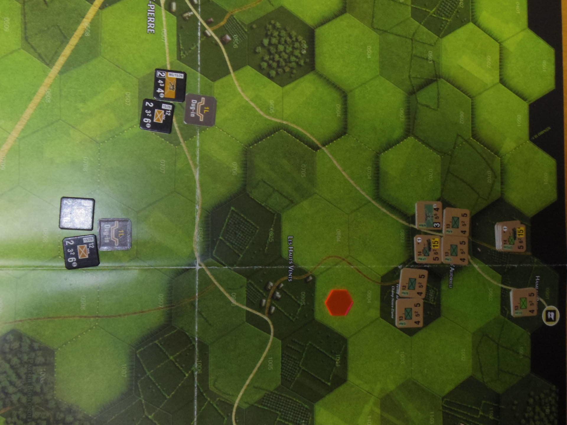 (GMT)ドーントレス作戦:練習シナリオ3「Recon Roundup(偵察の仕上げ)」からシナリオ18.1「Nightmarish Crossroad(悪夢のクロスロード)」その㈠_b0173672_01190894.jpg