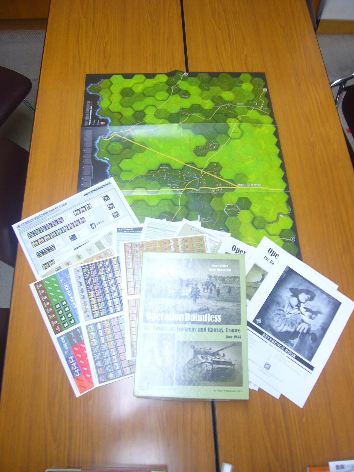 (GMT)Operation Dauntlessシナリオ18.2「the Groaning Woods(呻きの森)」そのⅠ_b0173672_14284503.jpg