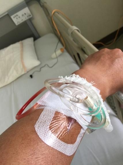 退院前の一週間。_f0229190_20332009.jpg