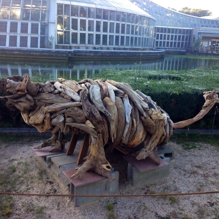 京都府立植物園の野外彫刻展終わる_c0100195_11324724.jpg