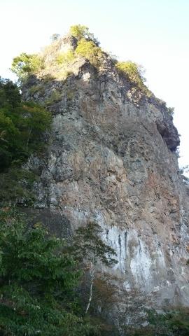 妙義山 木戸壁右カンテ_d0237801_17133685.jpg
