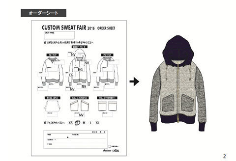 "10月21日(金)夕方から「Jackman ""CUSTOM SWEAT FAIR\""」開催_f0191324_08575016.jpg"