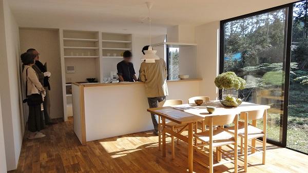 新しい「小さな家」つくりかた。 O邸完成見学会の模様_a0299347_1146748.jpg