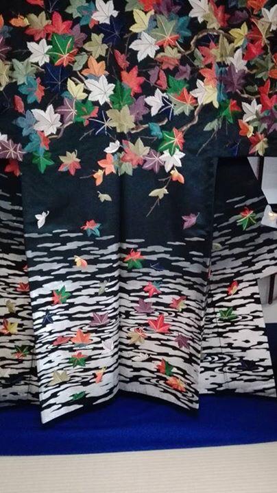 素晴らしい京刺繍 長艸刺繍 秋の展示会 & 京天神 野口でランチ会!!!_f0355367_19292388.jpg