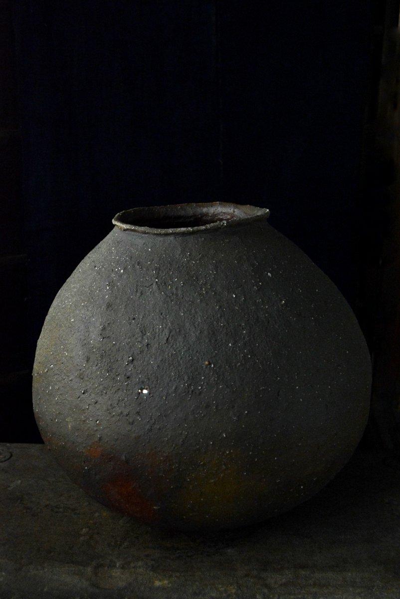 「森岡成好展 壺中有天」 炎の痕跡_d0087761_1671912.jpg