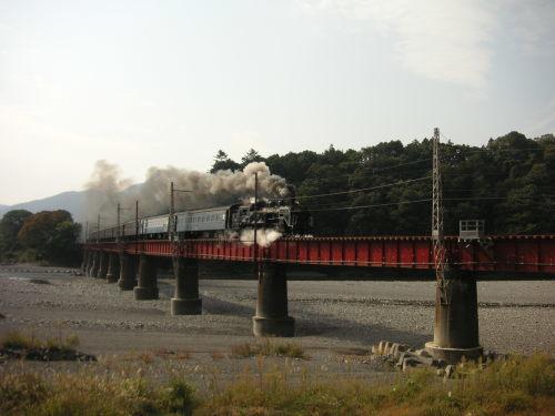 大井川鉄道とサイクリング_b0332867_14344071.jpg