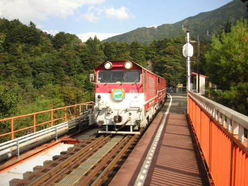 大井川鉄道とサイクリング_b0332867_14420181.jpg