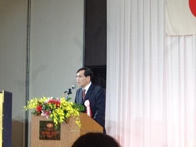 池田記念美術館ゴルフコンペに   中国成立67周年祝賀会_b0092684_15265659.jpg