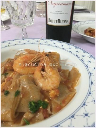 2015年イタリア食旅行記④  レッチェでの料理レッスン ルイージ編 _b0107003_22440132.jpg