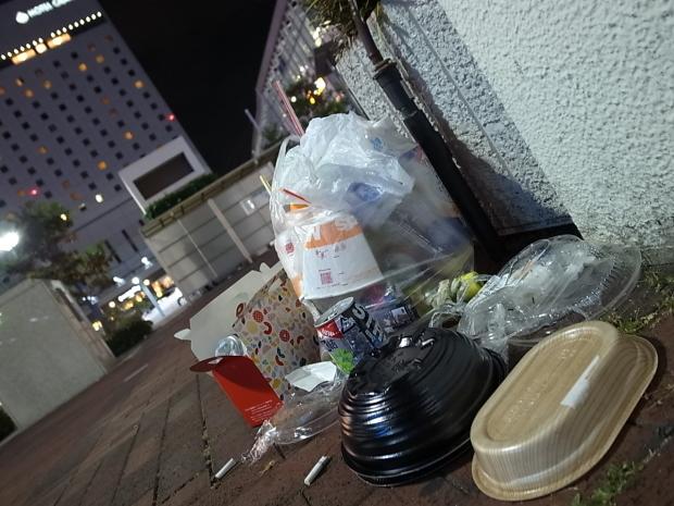 清掃活動@岡山駅東口_f0197703_10203074.jpg