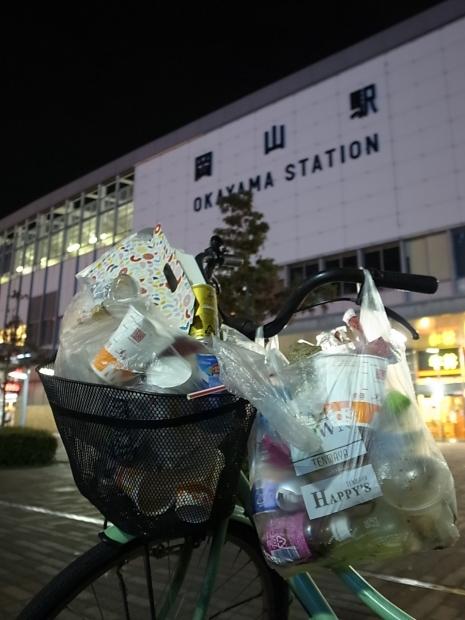 清掃活動@岡山駅東口_f0197703_10265069.jpg