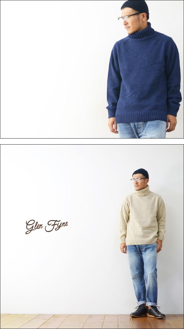 GLEN FYNE [グレンファイン] SINGLE POLO(ROLL) NECK [SIG-POLO]  MEN\'S_f0051306_19360918.jpg