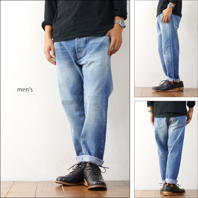 ordinary fits [オーディナリー フィッツ] 5PKT ANKLE DENIM USED2 5YEAR [OM-P020US2] MEN\'S/LADY\'S_f0051306_20000701.jpg