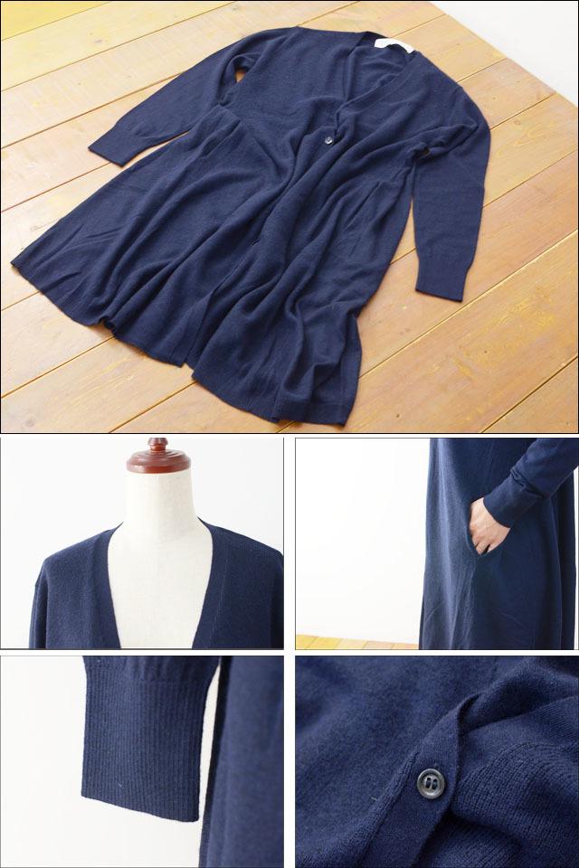 MidiUmi [ミディウミ] V neck flared cardigan [3-720645] LADY\'S_f0051306_20244835.jpg