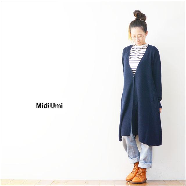 MidiUmi [ミディウミ] V neck flared cardigan [3-720645] LADY\'S_f0051306_20244883.jpg