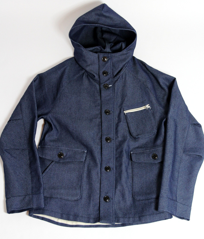 Denim Jersey Hooded Cover All _e0142928_1654285.jpg