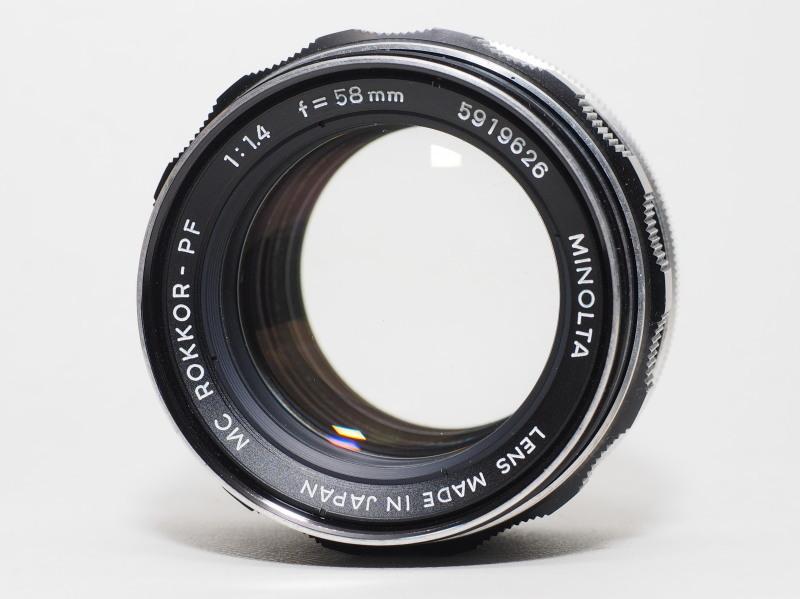 MC Rokkor PF 58mm F1.4_c0109833_15224674.jpg